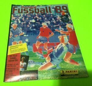 Panini Bundesliga Fussball 89 OVP Factory Sigillato Sealed Complete Set + Album