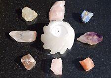 Amazing WHITE Selenite Crystal Lotus - Grid Centerpiece POWERFUL: ZENERGY GEMS™