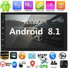 "2DIN 7"" Quad Core Android8.1 HD Autoradio MP5 Player GPS Navi Bluetooth WiFi FM"