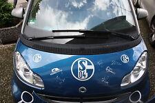 Motorhaube für Smart 451 signiert von Schalke Spielern