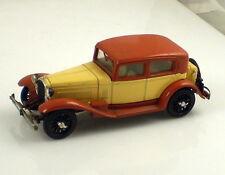 RIO Made In ITALY Vintage Alfa Romeo 1750 Tan & Cream  1:43 Scale Die Cast Car