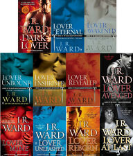 Black Dagger Brotherhood by J.R. Ward 11 Book Set Series Paperback Collection