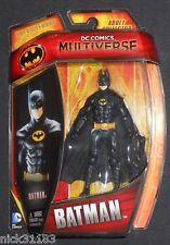 "DC COMICS MULTIVERSE BATMAN 1989 KEATON 89 3.75"" FIGURE MASKED VARIANT BURTON"