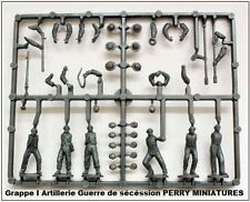 PERRY MINIATURES Grappes Artillerie Guerre de Sécession Figurines 28mm plastique