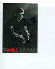 Gary Williams British UK BBC Big Band Jazz Singer Signed Autograph Photo