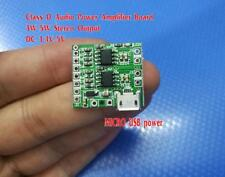 DC3.4V-5V  USB Power Amplifier Board 2.0CH 5W Compatible Bluetooth Audio Module