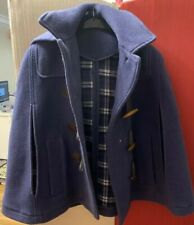 TOPSHOP NAVY CAPE / CLOAK WITH HOOD 50s rockabilly call the midwife warm blanket