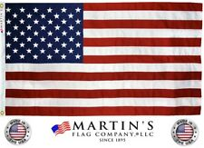 American Flag, Various Sizes, 100% Made in the USA, Best for High Wind Areas