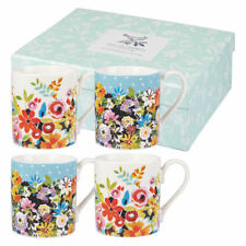 NUOVO-Collier Campbell Fiore patch set di 4 Tè Tazza da caffè, 250 ML, mix colori
