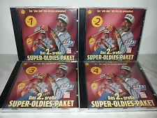 4 CD SUPER-OLDIES-PAKET - DAS 2 GROBE - CHICAGO CHER BYRDS TEMPTATIONS
