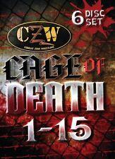 CZW Cage of Death Anthology DVD Set, Combat Zone Wrestling New Jack Lobo Masada