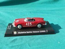 ALFA ROMEO GIULIETTA SPIDER VELOCE HISTORIC RACE CAR 56
