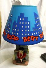 VERY NICE BETTY BOOP SKYLINE TABLE FIGURINE STATUE LAMP ROX MEL