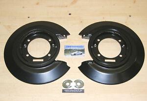 2 x Ankerblech hinten *NEU* für Opel Calibra Satz Ankerplatten Paar Bleche Zubeh