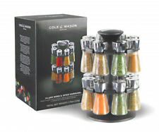 Cole & Mason H100659 Hudson Herb and Spice Carousel 16 Jar