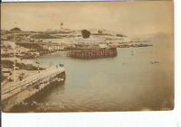 CG-031 England, Plymouth The Hoe Pier Divided Back Postcard Massachusetts