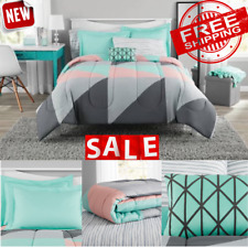 BEDDING SET QUEEN SIZE Comforter Bed Cover Duvet Sheets Pillowcase Bedroom Soft