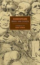 Shakespeare (New York Review Books Classics), Van Doren, Mark Book