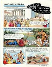 Bible Stories in Pictures #14 Part 3    October 26 1952     The End of Jerusalem