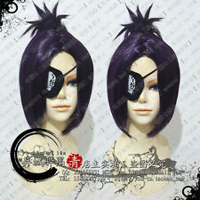 Hitman Reborn Chrome Dokuro Katekyo Anime Cosplay Wig + Free Eyepatch +Wig CAP