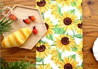 Honey bees 100/% Cotton Fabric BY THE YARD cute yellow bee character DTP JC6//30