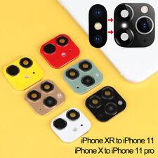 XR X to iPhone 11 Pro Max Fake Kamera Objektiv Sticker Groß-/Kleinschreibung