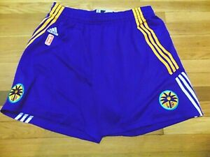 ADIDAS AUTHENTIC WNBA LOS ANGELES SPARKS REVOLUTION 30 GAME SHORTS SIZE 2XL nba