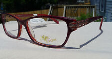 Apple Bottoms Eyeglass Frames AB765 Red Women's RX-able Glasses Retail $68 V4