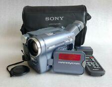 Sony Handycam Hi8 CCD-TRV228E PAL Vidéo Caméra Enregistreur Caméscope