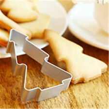 Christmas Tree Shaped Aluminium Mold Buscuit Cookie Cake Mold Cutter Mould Tool