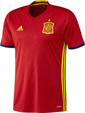 Adidas Spain Soccer National Team Red Jersey Football Shirt Size S