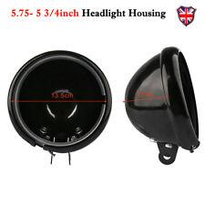 """5.75'' 5 3/4"""" Led Headlight Cover Housing Shell Bracket for Harley Davidson UK"""