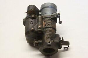 Original 1937 1938 Chevrolet 216 Six Cylinder Carter W-1 Carburetor 1BBL 838526