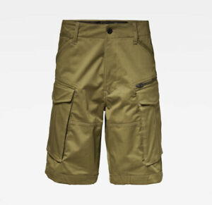 G-Star Raw Men's Sage Green Rovic Relaxed Cargo Shorts $110