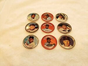 VINTAGE San Francisco Giants 1964 Topps Coin Team Set, Willie Mays & McCovey!!