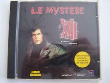 CD - ROM  PC LE MYSTERE XIII mac / windows