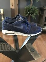 Nike SB Stefan Janoski Max Midnight Navy 631303-441 Size Mens 11
