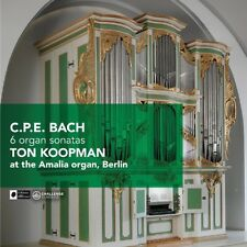 Ton Koopman - 6 Organ Sonatas [New CD]