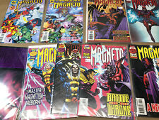 Marvel Magneto Lot of 11 Comics  One Shot, Vol 1: 1 2 3 4 Magnetic Men testament
