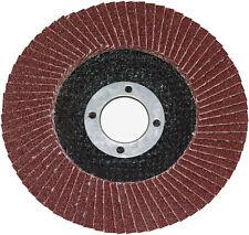 "Am-Tech Flap Disc 115mm Sanding 60 Grit Grinding Wheels Discs 4.5"" Angle Grinder"