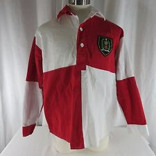 Uk Football Soccer Rugby Shirt Xl Southton Southhampton Red White Crest Toffs