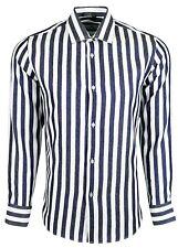 Dominic Stefano - Casual Smart Light Weight Broad Stripe Shirt - 449