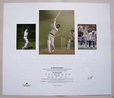 SIR GARFIELD SOBERS PERSONALLY HAND SIGNED LIMITED EDITION PRINT