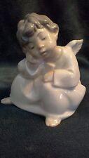 Vintage Lladro Figurine - 4539 Angel Thinking - 01004539 - Excellent Condition