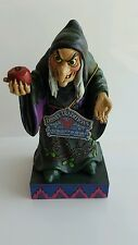Old Witch 'Take a bite'  Figurine 4037508 Disney Showcase Collection