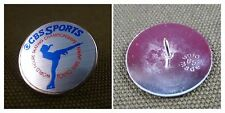 PIN'S BADGE MEDIA RADIO TV - CBS SPORTS WORLD FIGURE SKATING TOKYO 1985 JAPAN