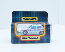 Matchbox MB-8 VAUXHALL ASTRA GTE, POLICE CAR,  Excellent Condition,  2246