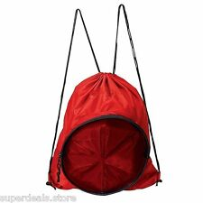 Volleyball Soccer Basketball Sport Backpack Bag - Red