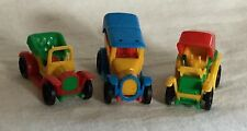 Bruder Mini Vintage Antique Toy Cars Snap Together Plastic Made In Germany #2
