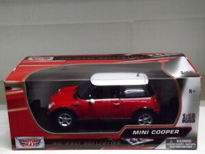 Modellino auto Mini Cooper  sc:1/18 (Motormax)